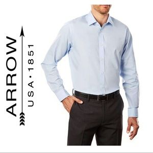 2/$30 🌼 Arrow 1851 Blue Dress Shirt